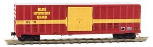Helena-Southwestern-50-039-Rib-Side-Box-Car-Single-Door-MTL-510-00-310-Z-Scale-NEW