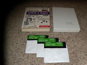 Symbols-amp-Slogans-Apple-IIe-IIc-IIGS-5-25-034-disk-with-box