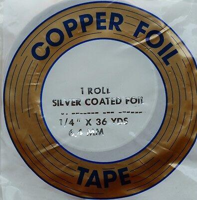 6,4 mm Kupferfolie 1//4 schwarz EDCO