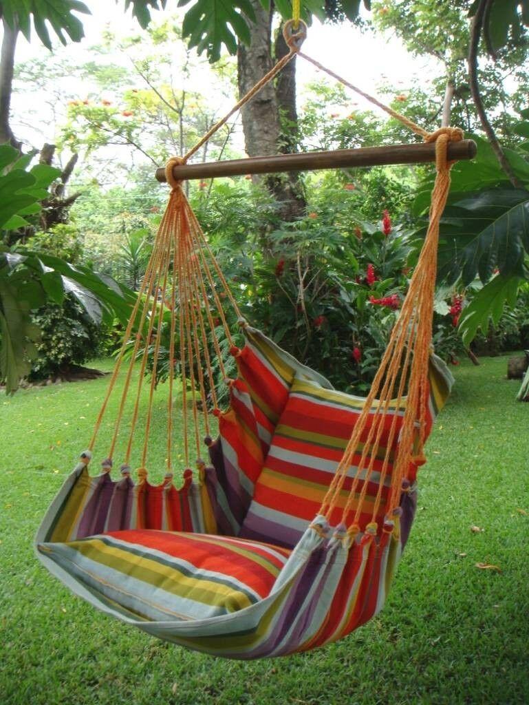 XL Großer Hängesessel Hängestuhl Cayo grande Costa Rica bis 140 kg 11102