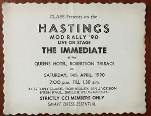 The-Immediate-Hastings-Mod-Rally-90-Ticket-D-J-Tony-Class-etc