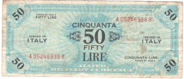 ITALY   50   LIRE   1975   MO  FREE  SHIPPING