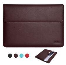 Apple iPad Pro 12.9 Case Sleeve Bag Cover Document Pocket Pen Holder Slim Brown