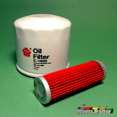 FLK5203-C Oil Fuel Filter Kit Kubota B1400 B1700 Tractor B5100 B6000 B8200 G6200