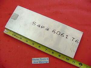 "2 Pieces 2/"" X 3/"" ALUMINUM 6061 FLAT BAR 9/"" long Solid 2.000/"" Plate Mill Stock"