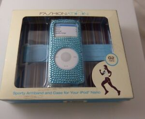 Bling-for-iPod-nano-jeweled-sporty-armband-amp-case-blue-crystals