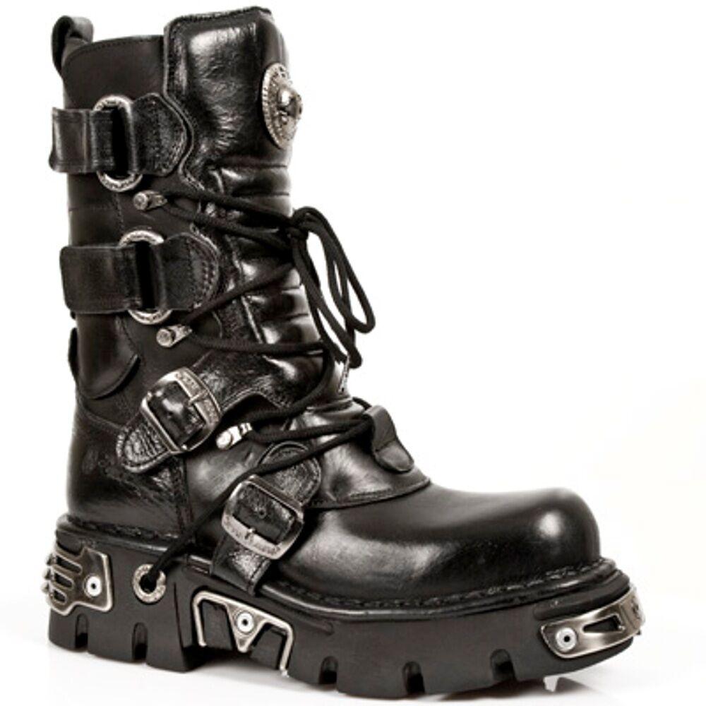 New Rock Boots Unisex Style 575 S1 Black