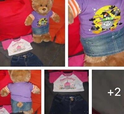 Build A Bear Kleidung 2-teilig Jacke mit Kapuze Hoodie Hose