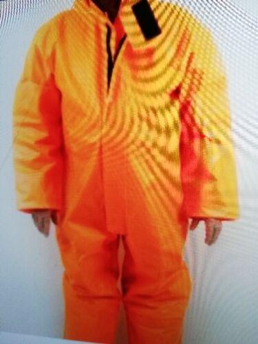 Size:One Size Fits Most HORNE/'S Drituff Hi-Vis Chemical Suit Colour: Orange