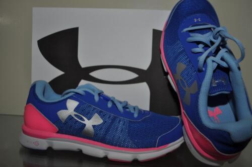 Under Armour Girls GS Micro G Speed Swift Running Shoes 1266305 001 NIB