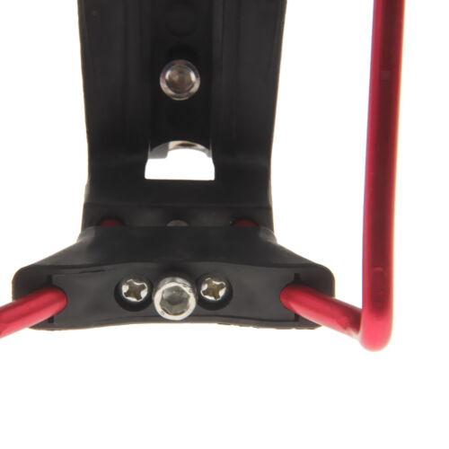 Réglable Aluminium Porte-bouteille avec Support Rack pour Vélo Rouge