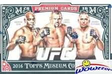 2016 Topps UFC Museum Collection Factory sealed HOBBY BOX-3 AUTOGRAPH/RELIC