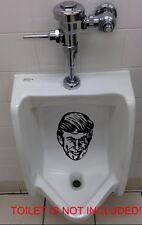 PEE PISS ON DONALD TRUMP'S FACE Vinyl Decal Sticker Window Toilet Bumper Urinal