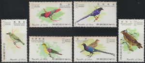 178-CHINA-TAIWAN-1967-TAIWAN-BIRDS-SET-MNH-SG-CAT-70