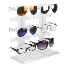 Sunglasses Glasses Acrylic Frame Jewelry Display Stand Holder 10 Pairs Sunglasse