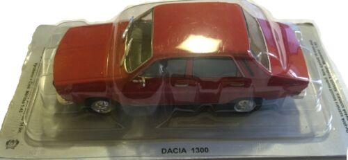 MV2-6 Legendary Cars 1:43 DACIA 1300 ROSSA RED CCCP Die Cast