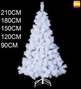 Arbol de navidad 90, 120, 150, 180, 210 cm Pino blanco clasico SUPER OFERTA