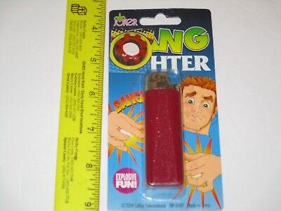 Plastic Exploding Cigarette Lighter Prank Gag Lighter