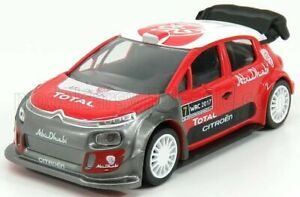 NOREV 1/43 CITROEN | C3 WRC RALLY OFFICIAL PRESS VERSION 2017  | RED WHITE