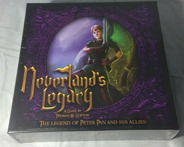 NEVERLAND'S LEGACY BOARD GAME BRAND NEW & SEALED