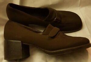 Mujer De Zapatillas Rockport Zapatos Marrón Mocasines Tacón Cómodo TqxwXgxd