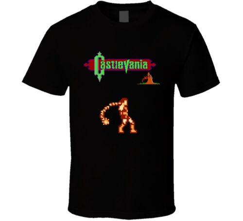 Castlevania Simon Belmont Rétro Jeu Vidéo T Shirt
