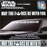 Star Wars May The Force Be With You 38 X 5 Car Auto Windshield Strip Vinyl Decal