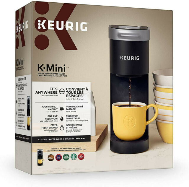 Keurig K-Mini Single Cup Coffee Maker - Matte Black for ...