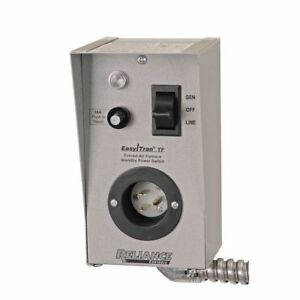 reliance controls tf151w single circuit transfer switch 15 amp for