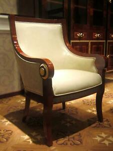 6-Chairs-Set-Dining-Room-Designer-Wood-Antique-Style-Baroque-Rococo-E68