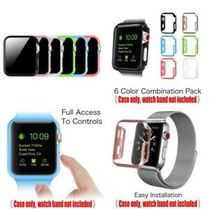 6 Color Pack Fintie Watch Case 42Mm, Slim Lightweight Polycarbonate Hard