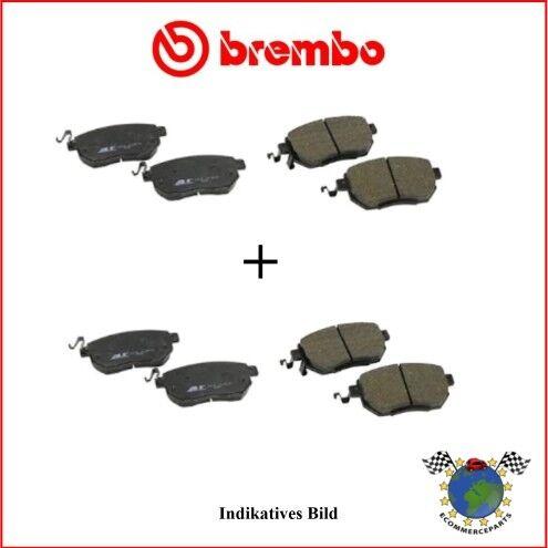 Kit Bremsbeläge vorne hinten Brembo NISSAN PRIMASTAR OPEL VIVARO de2