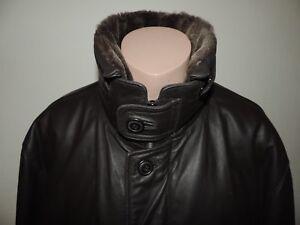 Details zu Westbury C&A Lederjacke Mantel Größe 58