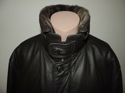 Westbury C&A Lederjacke Mantel Größe 58   eBay