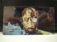 STAR TREK FIRST CONTACT TRADING Techno-Cell Borg card n. B6 Cardassian Borg