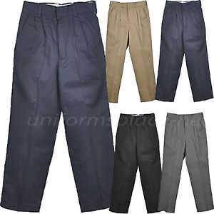 Dickies Boys Pleated Front Pant