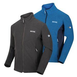 Men's Regatta Highton Stretch Golf Hiking Walking Full Zip Fleece Jacket RRP £60