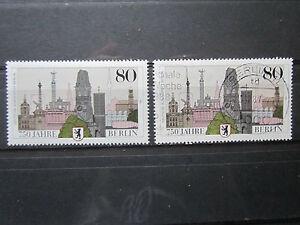 Berlin-1987-750-Jahre-Berlin-postfrisch-amp-gestempelt-O155