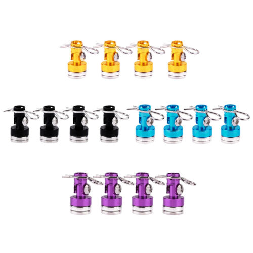 8pcs Magnetic Stealth RC Car Shell Column Invisible Body Post Mount Black