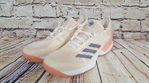 new styles 336eb 0d208 Image is loading Adidas-Adizero-Ubersonic-3-Women-039-s-CLAY-