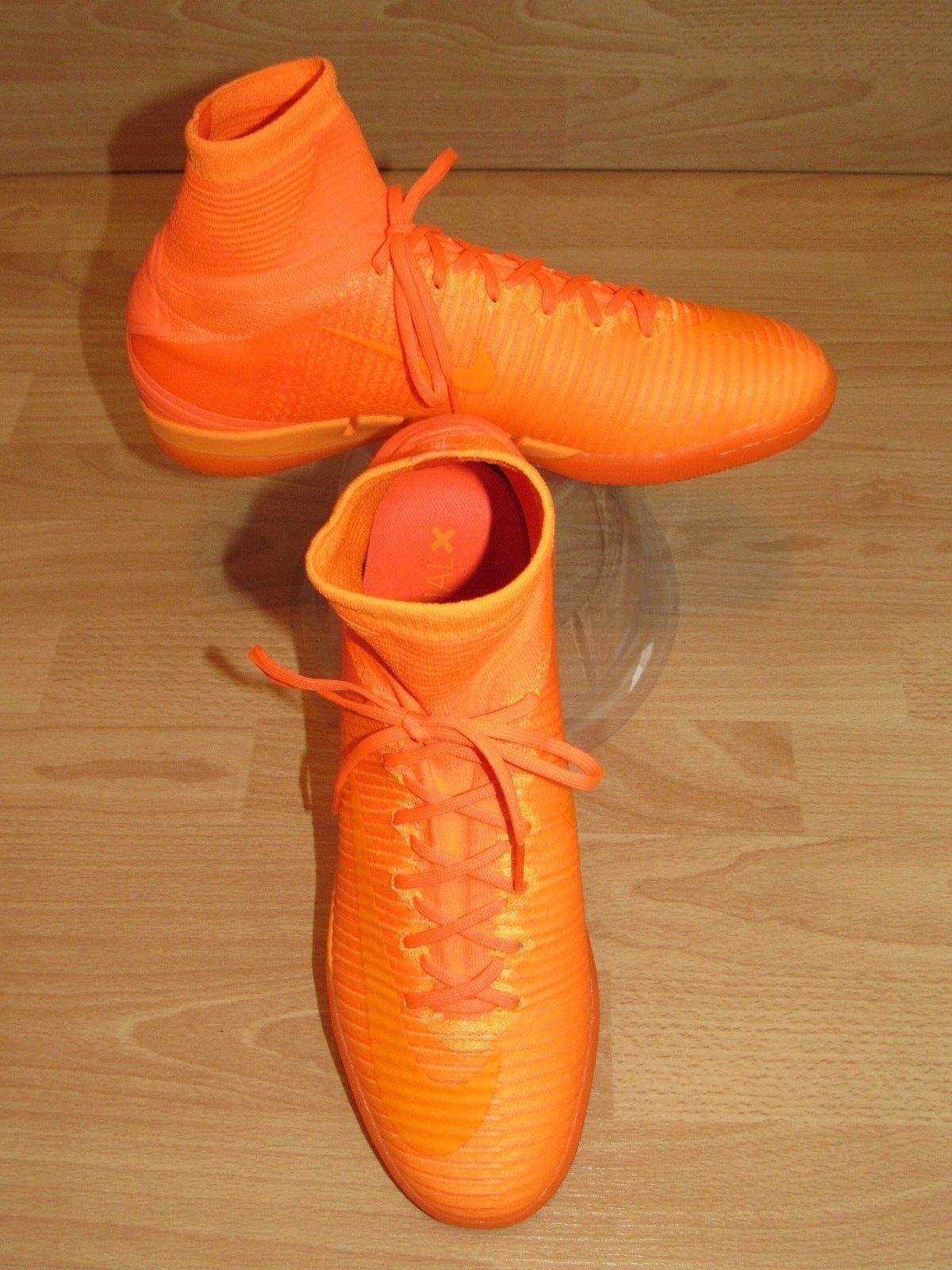 Herren Nike Mercurialx Proximo II Ic 831976-888 Fußballschuhe Orange Größe UK 11