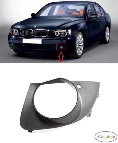 BMW 7 E65 2005-2008 NEW FRONT BUMPER FOG LIGHT LAMP COVER GRILLE LEFT N//S