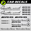 Mercedes Benz decals Sports Mind Powered by AMG sticker CLA C-class E-class S