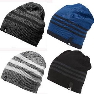 La imagen se está cargando Nuevo-Adidas-Calido-de-Invierno-Gorro-Punto-de- 3c0863991ad