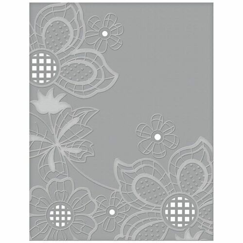 Spellbinders Cutting /& Embossing Folder Floret Cluster