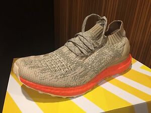 717e4a152 Adidas Ultra Boost All chalk creme Orange Uncaged 8 12 black red ...