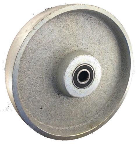 Rueda de fundido 250 x 54 de longitud del cubo 60 agujeros 20 rodamientos de bolas 1400 kg rueda galvanizado