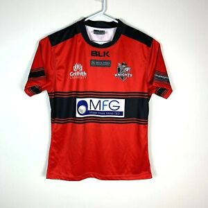 Griffith University Knights BLK Rugby Union Rare Jersey Size Men's Large