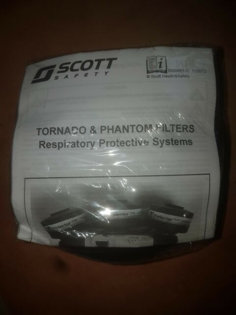 x5 Particle Filter Phantom and Tornado PF 251/2 Scott Safety EXPIRY DATE 2025