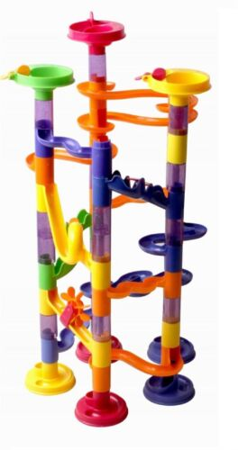 MARBLE RUN  RACE CONSTRUCTION CHILDRENS KIDS BUILDING BLOCKS CREATIVE GAME TOY
